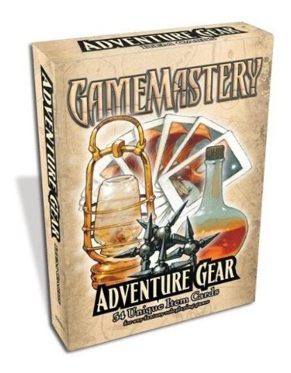 Gamemastery Item Cards Adventure Gear Deck