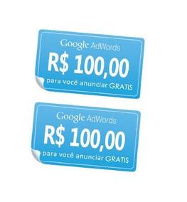 Cupom Google Adwords Ads R$200 Anuncie Ads - Envio Imediato