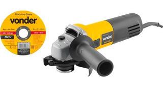 Esmerilhadeira Vonder Eav650 4.1/2 650w 110 Ou 220v C/ Disco