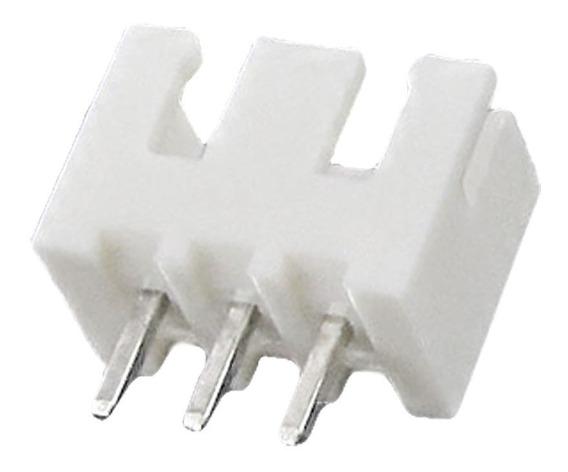 Conector Header Jst Xh Para Pcb 3 Pines Rectos Paso 2.54mm