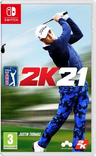 Imagen 1 de 1 de Pga Tour 2k21 Golf - Nintendo Switch Físico Nuevo & Sellado