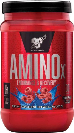 Amino X Bsn 30 Serv 435gr Blue Razz Aminoacidos
