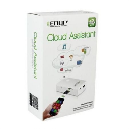 Edup Cloud Assistant Roteador Wifi Banco Baterias 3g