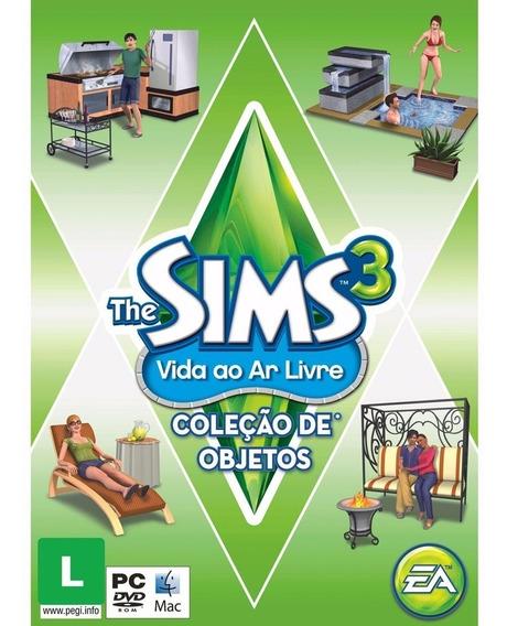 The Sims 3 Vida Ao Ar Livre Coleção De Objetos Pc *novo*