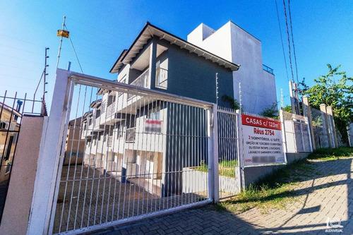 Belo Sobrado Com 2 Dormitórios, Sendo Um Suíte, À Venda, 123 M² Por R$ 430.000 - Camaquã - Porto Alegre/rs - So0153