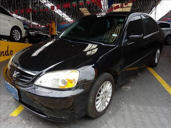 Honda Civic Civic 1.7 Ex 16v Gasolina 4p Automático