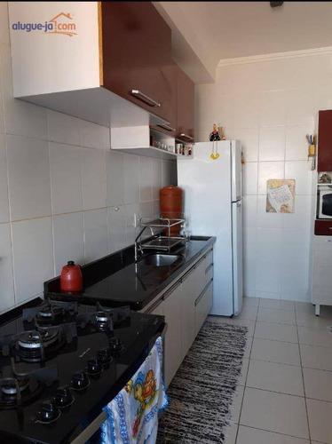 Apartamento Com 3 Dormitórios À Venda, 111 M² Por R$ 636.000,00 - Jardim Augusta - São José Dos Campos/sp - Ap9357
