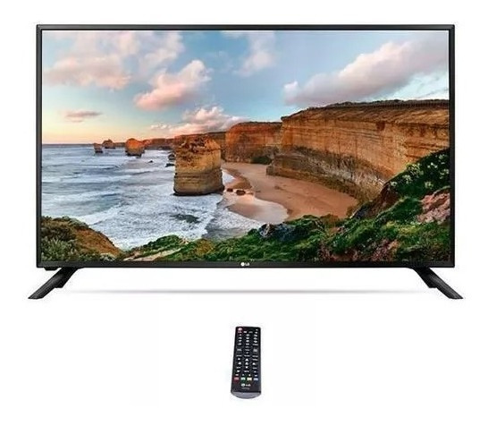Tv LG 32 Polegadas Led 32lj501b Hd Com Hdmi/usb + Conv. Dig.