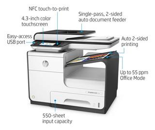 Impresora Multifunción Hp Pagewide Pro 477dw