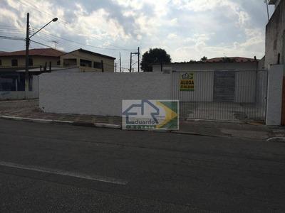 Terreno Para Alugar, 250 M² Por R$ 2.200/mês - Conjunto Residencial Irai - Suzano/sp - Te0031