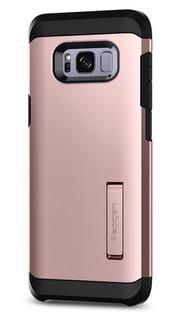 Funda Spigen Samsung S8 Plus [rose Gold] Tough Armor