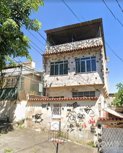 Imagem 1 de 4 de Casa Com 3 Dormitórios À Venda, 110 M² Por R$ 154.000 - Quintino Bocaiúva - Rio De Janeiro/rj - Ca0801
