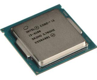 Procesador Intel Core i3-6100 2 núcleos 64 GB