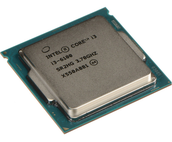 Procesador Intel Core i3-6100 2 núcleos 64 GB