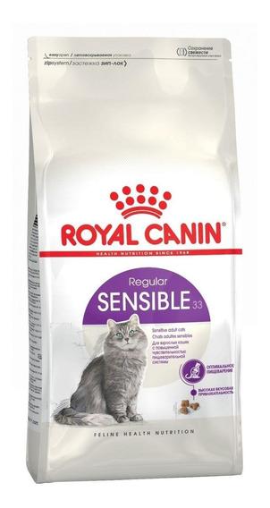 Ração Royal Canin Sensible 33 Feline Health Nutrition gato adulto mix 7.5kg