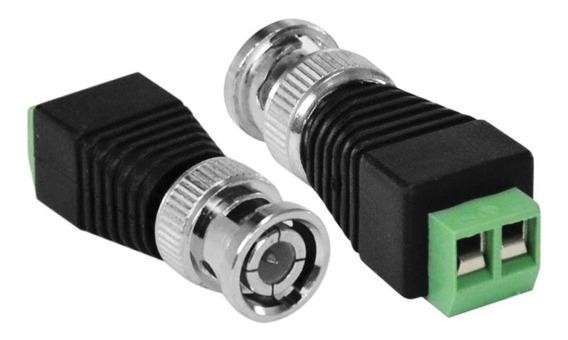 Kit 10 - Conector Bnc Com Borne