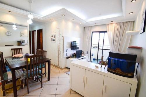 Apartamento Com 3 Dormitórios E 3 Vagas De Garagem - Vila Monumento - Ap11228