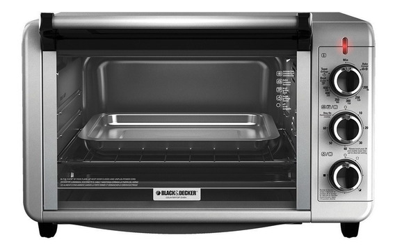 Horno eléctrico Black+Decker Dining In TO3210 Plata 220V
