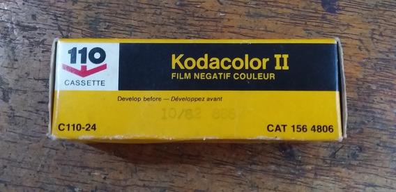 Filme Kodak 110 Para Camera Fotografica Antiga Só O Filme