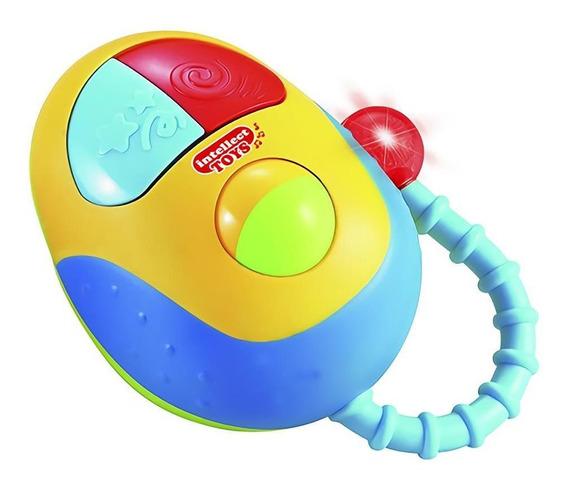 Juguete Para Bebes Niños Mouse Con Luz Y Sonidos Love