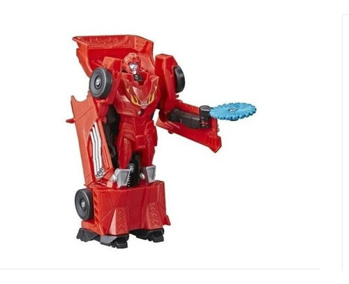 Boneco Transformers Hot Rod Cyberverse 11 Cm  Hasbro