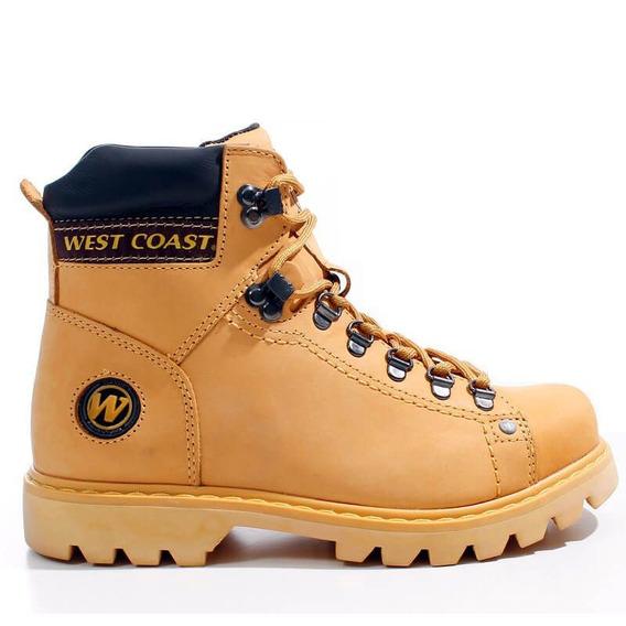 Bota Coturno West Coast Worker 5790 Couro Legítimo + Nfs