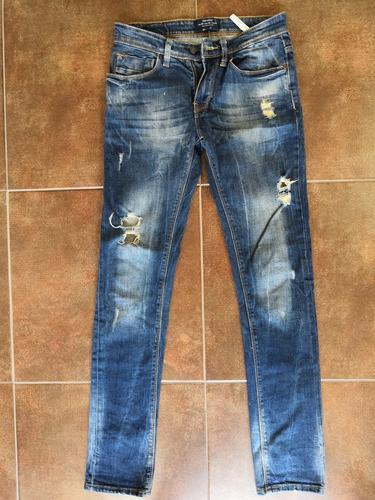 Jeans Rotos Para Hombre Bershka Mercado Libre