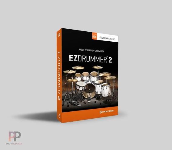 Ezdrummer 2 + 41 Expansões + Suporte - Windows E Mac