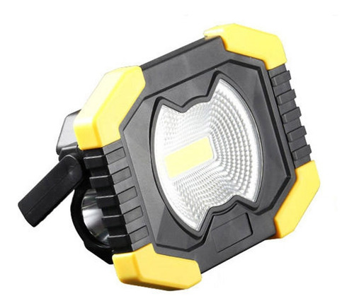 Reflector Linterna Led 30w Carga Solar Seguridad Vehicular