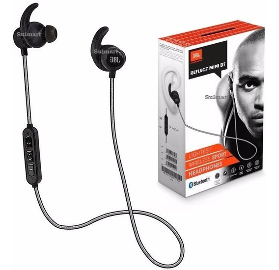 Headphone Esportivo In-ear Bluetooth Reflect Mini Bt Jbl