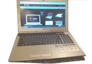 Notebook Msi 16gb Ram Hd+ssd(120gb) 2gb Gfx