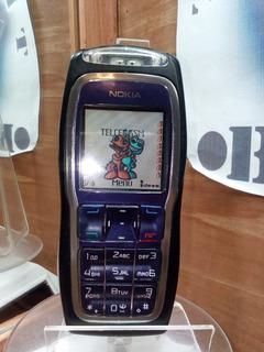 Nokia 3220 Gris/morado Telcel ---envío Gratis---