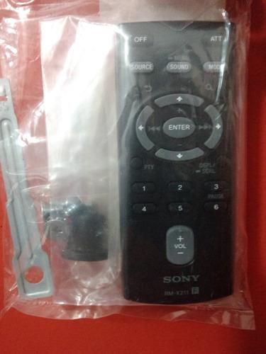 Control Remoto Para Estéreo Sony Rm-x211 Nuevos!!