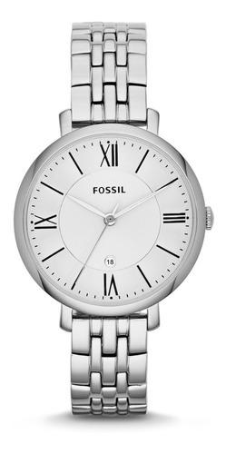Reloj Dama Fossil Es3433 Color Plata De Acero Inoxidable