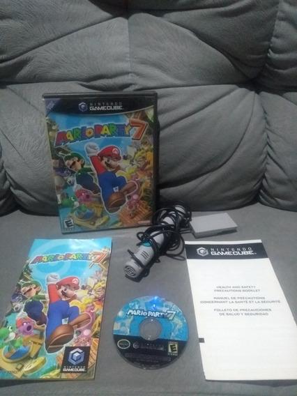 Mario Party 7 Com Microfone Game Cube