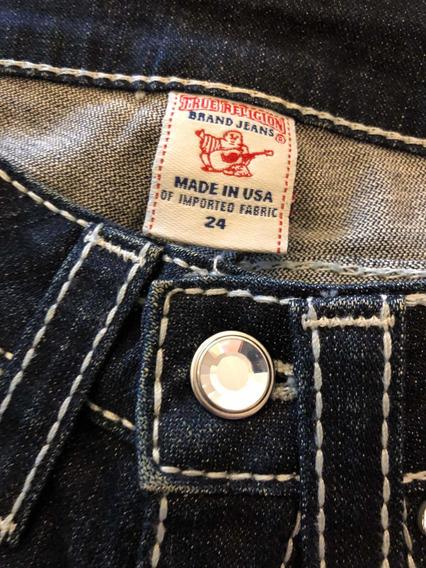 Calça Jeans True Religion Original Nova Tam 24 Americano