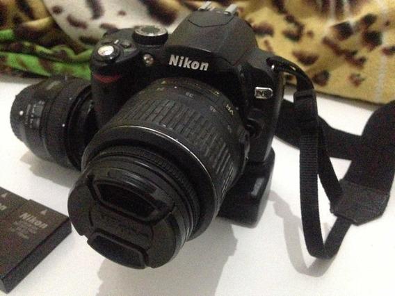 Nikon D60 C/lente 18-55 + Grip E 2 Baterias