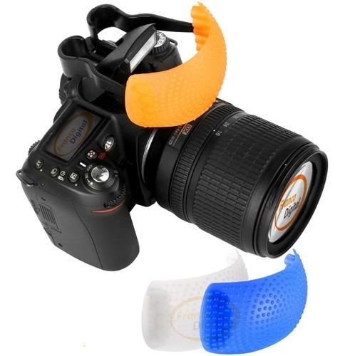 Difusor Para Flash Integrado Nikon Canon Sony Reflex Y Dslr