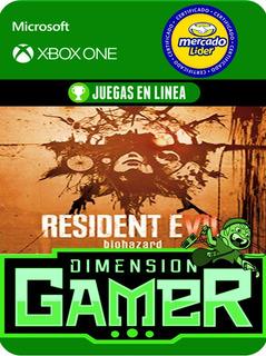 Resident Evil 7 - Xbox One - Online/offline