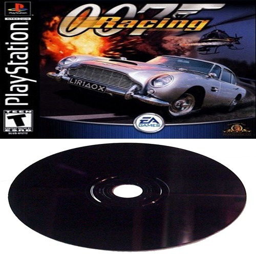 007 Racing - James Bond Playstation 1 Carro Ação Disco Preto