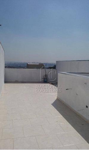 Cobertura  Residencial À Venda, Vila Camilópolis, Santo André. - Co1542