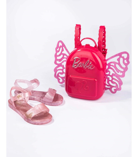 Sandalia Bb Butterfly Promo Inf Rs/glit