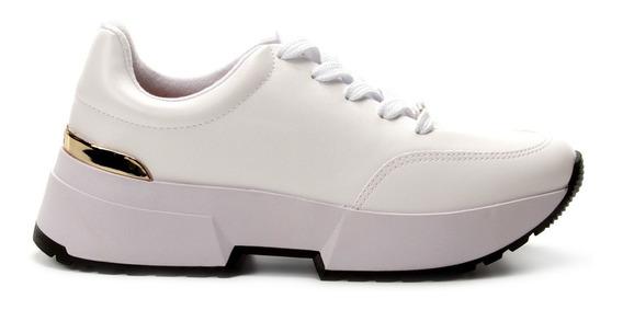 Tênis Feminino Vizzano Chunky Sneaker Branco