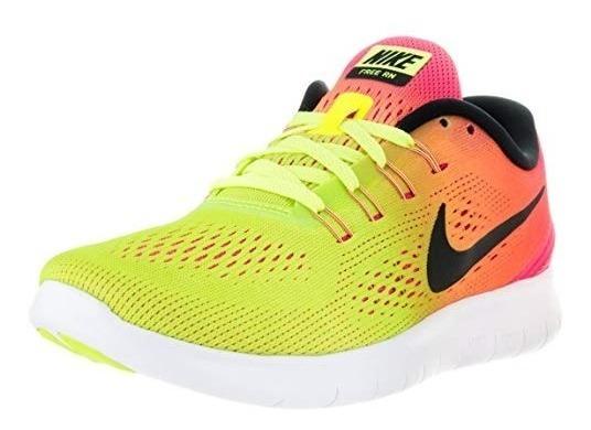 Tenis Nike Para Caballero Free Rn Oc Multicolor 28.5 Cm