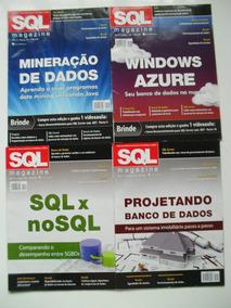 Revistas Sql Magazine Edições 99 A 110 E 134 Devmedia- Rav73