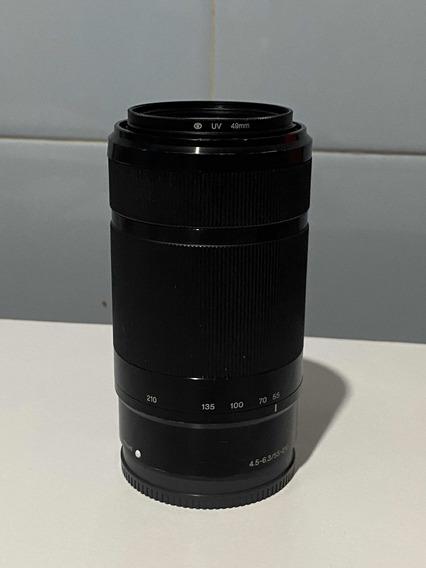 Lente Sony 55-210mm 4.5 6.3 E-mount Oss