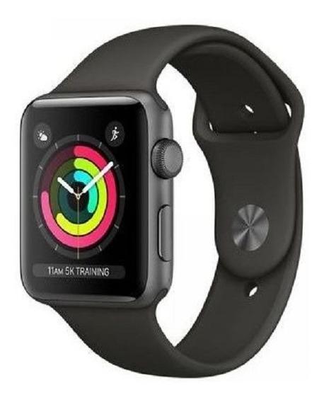 Relógio Apple Watch Series 3 Gps 42mm Space Gray Alumínio