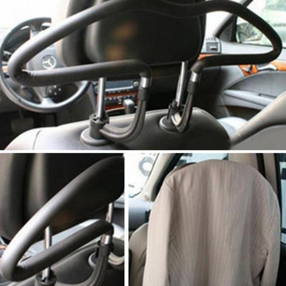 Porta Terno Blazer Paleto Suporte Cabide Carro Universal