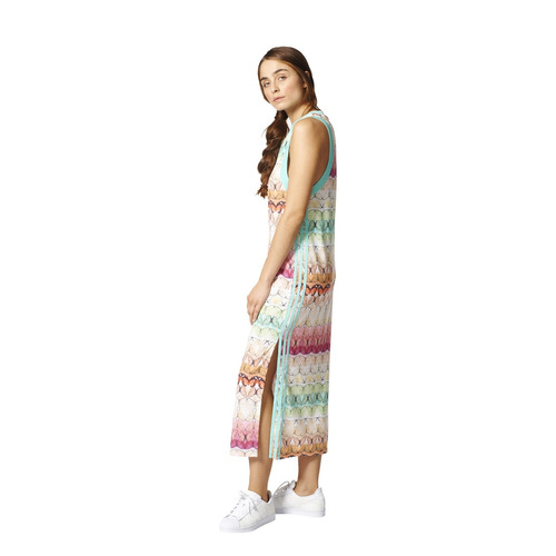 Marcha atrás Grifo reembolso  Vestido adidas Originals Borbofresh Tank Dress Mujer Am/fu | Mercado Libre