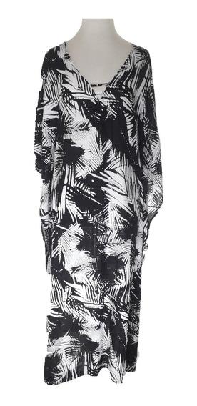 Vestido Mujer Fibrana Estampado Moda Las Antonias La9021
